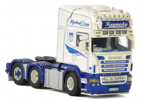 WSI Kennedy International  SCANIA R5 TOPLINE 6x2 TWIN STEER